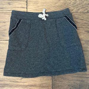 Size 6 Gray Carter's Cotton Skirt